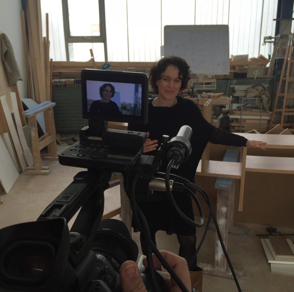 Sarah Maier im Interview  2016